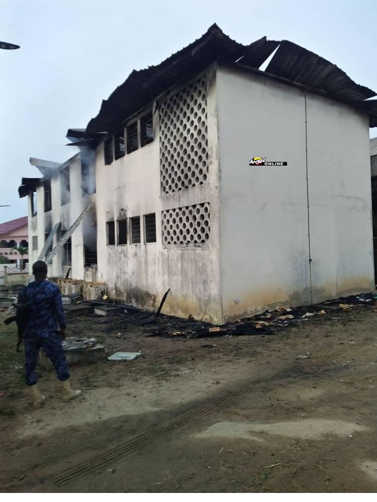 EC office fire