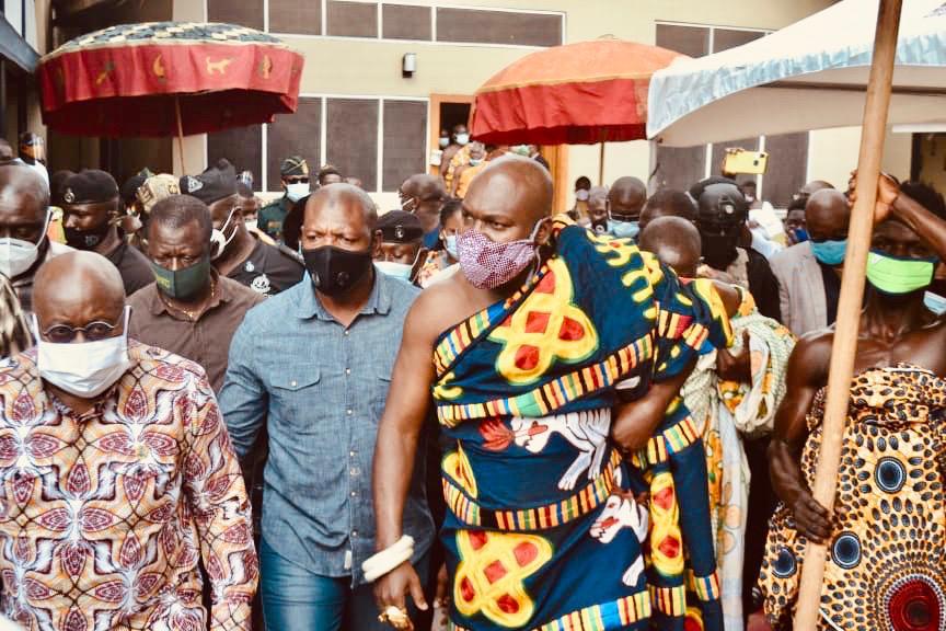 Akufo-Addo at Akwamufie