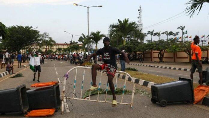 Nigeria demo
