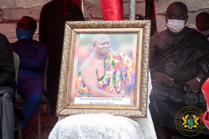 Akufo-Addo condoles with Ekow Hayford family