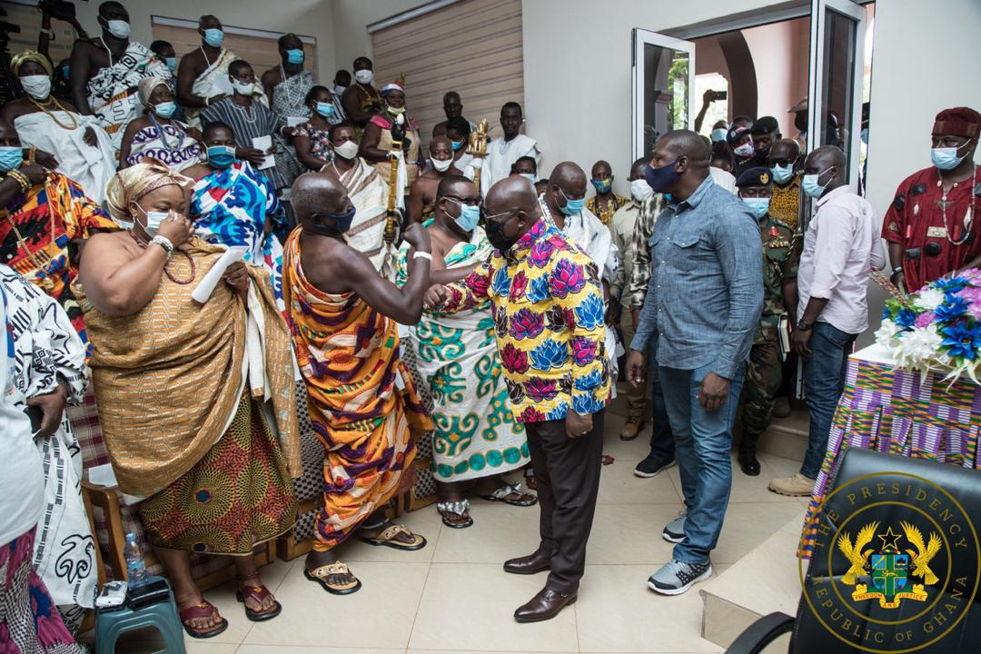 Akufo-Addo on state-acquired lands