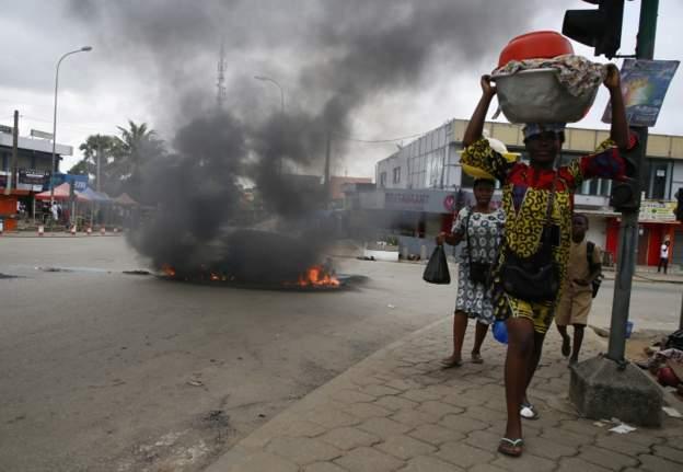 Ivory Coast election violence