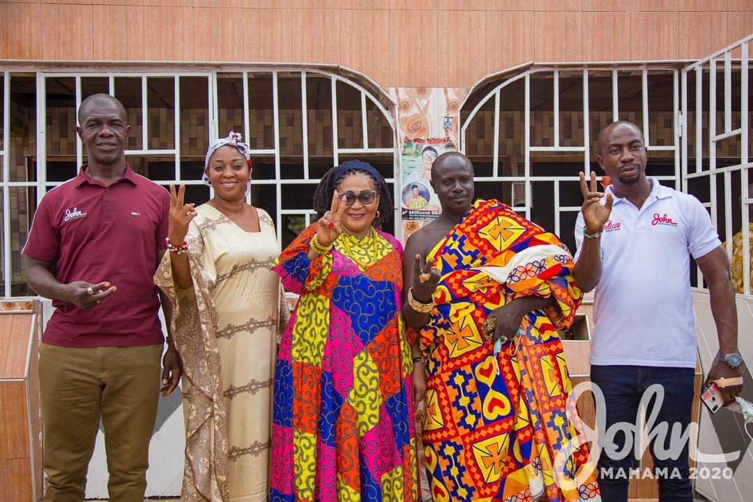 Lordina Mahama campaign