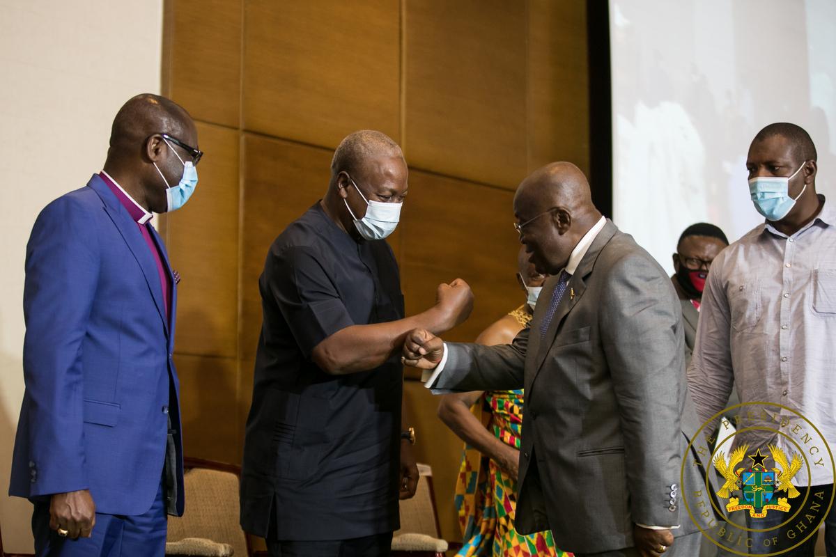 Nana-Mahama peace pact