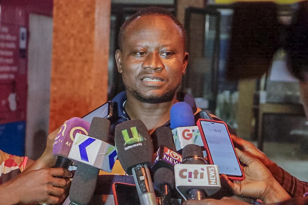 Ernest Nutor, Kumasi airport disinfection