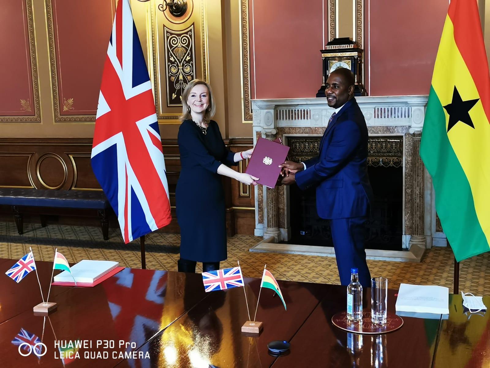Ghana and UK trade