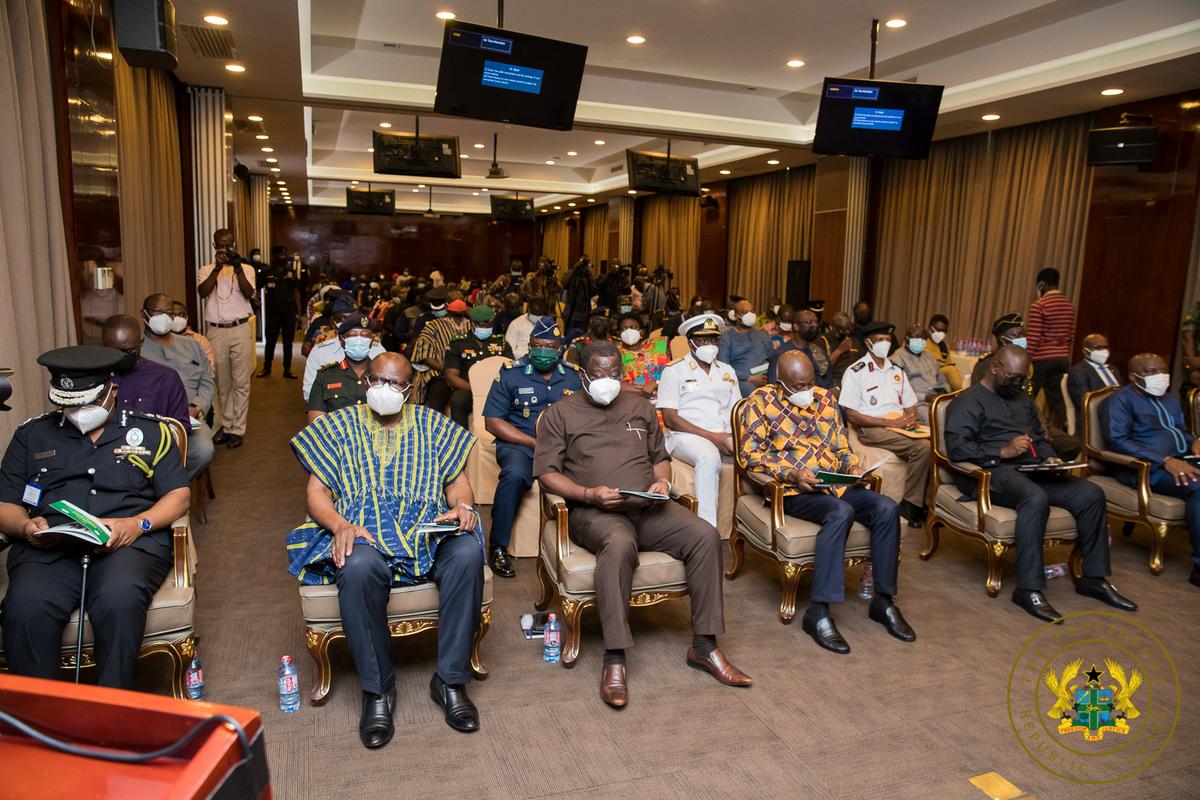 Akufo-Addo Earthquakes meeting